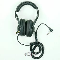 Killer B Wasp Optima Headphones with 1/4 Angled Plug for Metal Detector