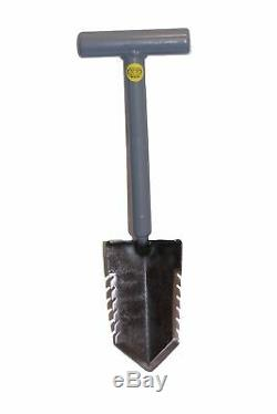 Lesche Sampson 18 T-Handle Double Serrated Shovel & Digging Tool Left Serrated