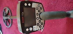 Lightly Used Minelab E-Trac Metal Detector with all original accessories + extra