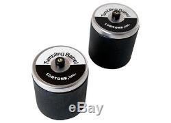 Lortone Model 33B Double Barrel Tumbler with Twin 3 lb. Capacity Barrels