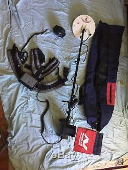 MINELAB GPX 5000 Professional Metal Detector + ACCESSORIES! BARELY USED