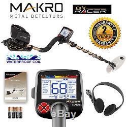 Makro Gold Racer Metal Detector Standard Package with 5.5 x 10 Waterproof Coil