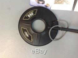 Metal detector, White's Eclipse 950, DFX e Series with Several Accessories