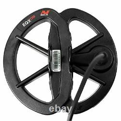 Minelab 6 EQX 06 Double-D Waterproof Smart Search Coil Equinox Series Combo NEW