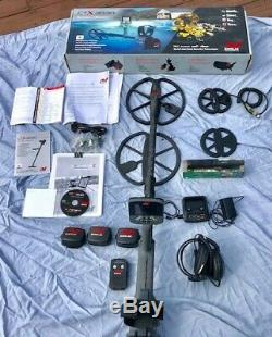 Minelab CTX 3030 Metal Detector, with 2 coils, and accessories