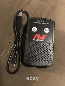 Minelab Ctx 3030 Wm 10 Wireless Module For Using Headphones Or Speaker New