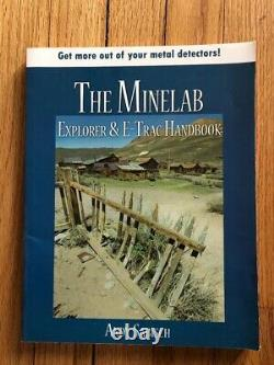 Minelab E-Trac with Sunray X 1 Target Probe. Extras