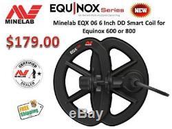 Minelab Equinox 6 DD Smart Coil For Equinox 600 & 800 Detectors Ships FREE