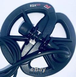 Minelab Equinox 6 Waterproof Coil & Lower Rod for EQX 600 & 800 Metal Detectors