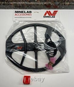 Minelab Equinox 600 800 15 Inch Coil EQX15 with SUNRAY Ear Stiffener 12x15 NEW