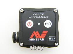 Minelab Equinox 600 or 800 Wireless Audio Module WM 08 metal detector headphones