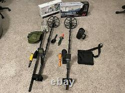 Minelab Equinox 800 and Nokta Makro Simplex+ With Scoops, Bags And Pinpointers