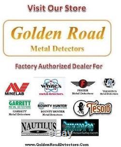 Minelab Excalibur II 1000 Metal Detector with 10 Coil Best Water Detector Ever