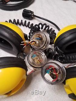 Minelab Excalibur Parts. Headphones and end caps