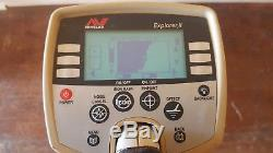 Minelab Explorer II 2 Metal Detector Multi Frequency Finds Deep Coins EOD Gold