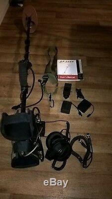 Minelab GP3000 metal detector, extra coils and accessories
