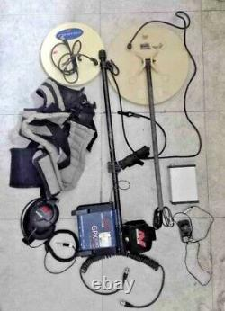 Minelab GPX 5000 Metal Detector with 2 coil (11DD 14Mono)