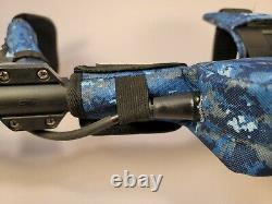 Minelab GPX6000 Nugget Stalker Brand Blue Camo Protective 5 Piece Cover Set