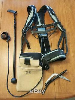 Minelab GPZ 7000 metal detector + 19 inch accessory coil, + pro swing harness
