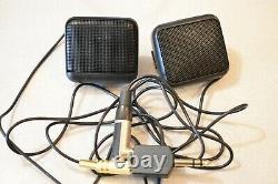 Minelab Metal Detector SD 2200 V2 2 Batteries & 2 Coils Original Box + Speakers