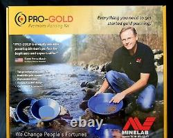 Minelab PRO-GOLD Gold Panning Kit Plus. 14-Piece Kit -Tools for Gold Prospecting