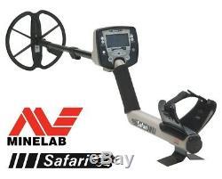 Minelab Safari Metalldetektor Universal Metallsuchgerät Metallsonde reduziert