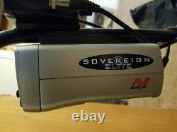 Minelab Sovereign Elite Lightly used Detector and Bundle
