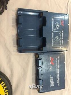 Minelab Sovereign GT Metal Detector Box with Battery Packs and Cover