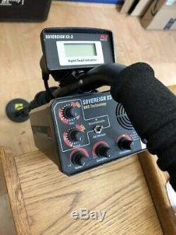 Minelab Sovereign XS-2 pro with 550 meter and 5 and 10 coils