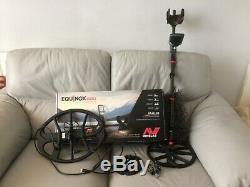 Minelab equinox 800 and coils