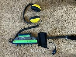 Minelab excalibur 2 metel detector used