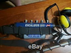 Minelab excalibur metal detector
