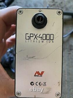 Minelab gpx 4000