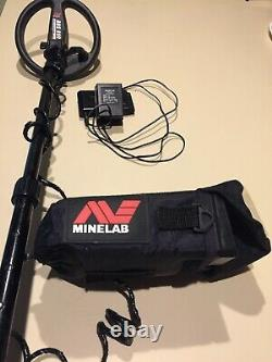 Minelab sovereign metal detector XS-2A Pro