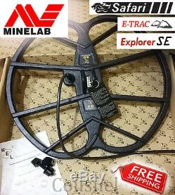 NEL BIG 15x17 DD coil Minelab E-Trac/Explorer SE PRO/II/XS/S, Safari, Quattro MP