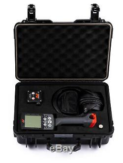 NEW Detectortek LuxCase Hard Transport Case for Minelab Equinox 600/800
