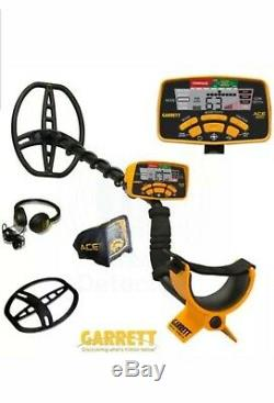 NEW Garrett Ace 400i Metal Detector with FREE Accessories