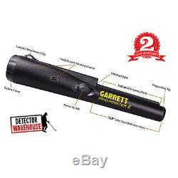 NEW Garrett ProPointer II Metal Detector Holster/9V Pro-Pointer 2 Pinpointer NIB