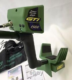 NICE! Garrett GTI 1500 Metal Detector with Automax Pinpointer & Many Accessories