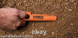 New GARRETT Waterproof PRO POINTER AT Metal Detector Pinpointer With Z-Lynk