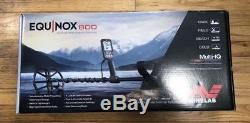New Minelab Equinox 800 Metal Detector