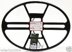 New NEL THUNDER 14.5x10.5 DD search coil for Makro Racer + cover + fix bolt