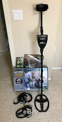 Nice Used Garrett AT Pro Metal Detector with Extras FREE SHIPPING