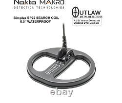Nokta/MAKRO Simplex Waterproof DD Search Coil 8.5 (SP22) 17000169