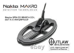 Nokta/MAKRO Simplex Waterproof DD Search Coil 9.5x5 (SP24) 17000168
