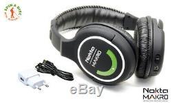 Nokta Makro 2.4GHz Wireless Headphones New Version GREEN EDITION