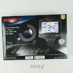 Nokta Makro Impact Pro Pack Metal Detector with Waterproof DD 11x7'' Search Coil