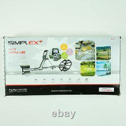 Nokta Makro Simplex+ Waterproof Detector with 11 Coil