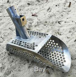 PRO Sand Scoop Metal Detecting Hunting Tool Shovel +Collapsible Handle KREPISH