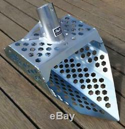 ROE 200 Beach Sand Scoop Metal Detector Shovel Stainless Steel Treasure Hunting